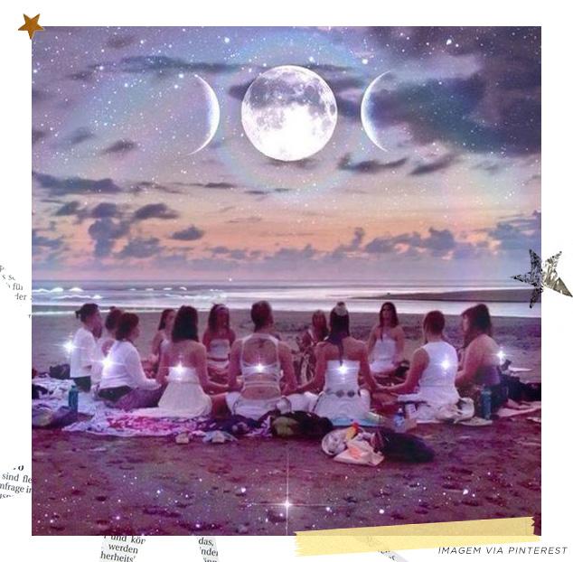 Mulheres Lua Via Pinterest